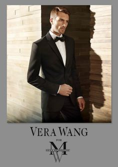 When the occasion demands Nice people dating wear #Black tie! #Vera Wang Mens Wearhouse