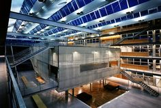School of Architecture, Marne-la-Vallée, Paris. Bernard Tschumi.