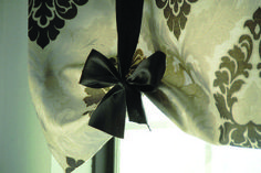 no sew tie up shades, crafts, reupholster, window treatments, windows, The finished product