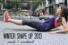 A great workout plan (post baby!)