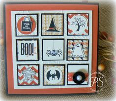 by Penny Smiley, Stampsnsmiles: Spooky Bingo Bits!
