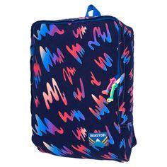 Slim printed backpac
