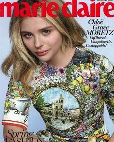 Beautiful Chloe Grace Moretz wearing SS16 Dolce&Gabbana look on February 2016 @marieclairemag cover #dolcegabbana #italiaislove #dgwomen #chloegmoretz ❤️❤️❤️❤️