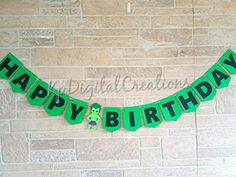 Hulk birthday banner, Hulk birthday party supplies #hulkbirthday #hulkbanner Banner Hulk, Wall Banner, Hulk Birthday Parties, Character Words, Party Banners, Retirement Parties, Happy Birthday Banners, Cake Toppers, Party Supplies