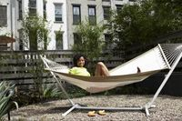 How to Make a PVC Hammock Stand   eHow