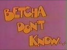"""NBC Network - Betcha Don't Know - """"Twins"""" (PSA, 1982) -- Here's a public service message (announcement) from NBC, in association with the CTW (Children's Television Workshop) - Betcha Don't Know. This one teaches about the different types of twins and features Erik Estrada.  These aired for awhile during commercial breaks on NBC's Saturday Morning Cartoons lineup.  This aired on local Chicago TV on Saturday, September 4th 1982."""