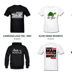Hustle Hard shirts re-stocked. Thanks to everyone for shopping with us #campaigntees #hustlehardcampaign