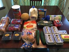 Gretchen's $56 Grocery Shopping Trip and Weekly Menu Plan!