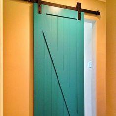 Slide the door over for wheelchair access