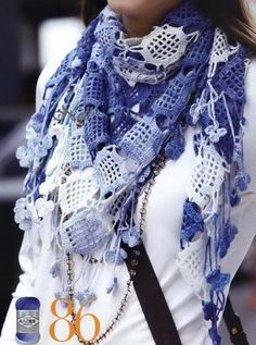 Crochet Shawls: Crochet Shawl Pattern - Shawl Scarf