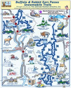 34 best Snowmobile Trail Maps images on Pinterest | Trail maps ...