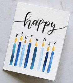 Creative Birthday Cards, Handmade Birthday Cards, Happy Birthday Cards, Funny Birthday, Birthday Wishes, Birthday Card Drawing, Birthday Card Design, Bday Cards, Cards For Friends