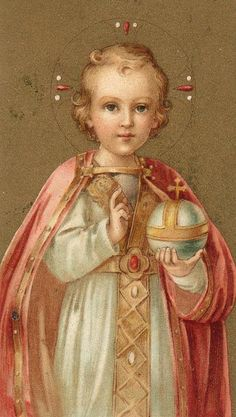 Child Jesus by Immaculata Helvetia, via Flickr <--Looks like the images of the Infant of Prague.