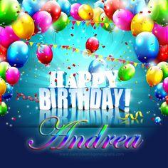 happy birthday Andrea   Happy Birthday Andrea