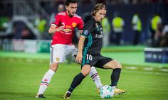 Luka Modrić suspended for first leg of Spanish Super Cup = One day after Real Madrid won the UEFA Super Cup with a 2-1 victory over Manchester United, it was reported that the reigning La Liga champions will.....