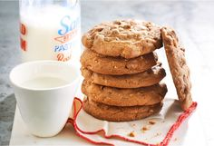 Double choc nut cafe cookies, double delicious.