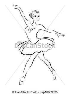 Wektor - Wektor, kontur, rys, balet, tancerz - zbiory ilustracji, ilustracje royalty free, zbiory ikon klipart, zbiór ikon klipart, logo, sztuka, obrazy EPS, obrazki, grafika, grafik, rysunki, rysunek, obrazy wektorowe, projekt graficzny, EPS wektor graficzny