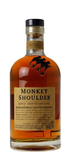 Bottlerocket Wine & Spirit Monkey Shoulder Blended Malt Scotch Whisky