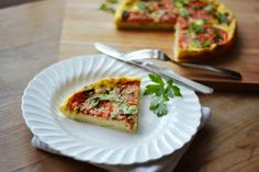 Easy & Simple~Three Egg Quiche