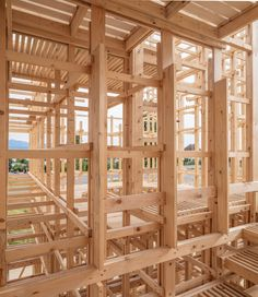 The École polytechnique fédérale de Lausanne has become a stage for showing off the skills of its young students. This year the ALICE institute, under the leadership of Prof. Dieter Dietz, carried out an unusual project. The result is a huge, walk-in wooden pavilion.
