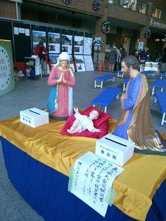 donation at Nagasaki'