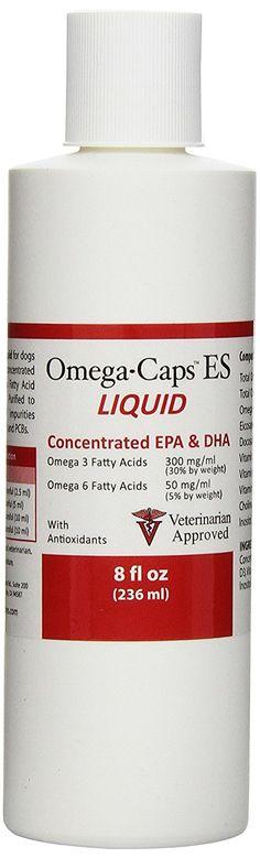 Omega-Caps ES LIQUID (8 fl oz) -- Quickly view this special cat product, click the image : Cat Supplies