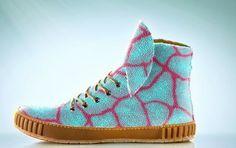 Quer ter um tênis feito de couro de arraia?