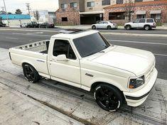 Custom Chevy Trucks, Old Ford Trucks, Old Pickup Trucks, Mini Trucks, New Trucks, Cool Trucks, Future Trucks, Small Trucks, Dropped Trucks
