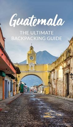 The Ultimate travel guide to backpacking Guatemala on a budget, with tips on how to save money, cheap places to eat, things to do, and so much more. Honduras, Belize, Travel Advice, Travel Guides, Travel Tips, Travel Hacks, Free Travel, Travel Goals, Budget Travel