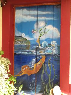 Projecto artE pORtas abErtas, Open Doors project, painted doors, Funchal, Madeira, Portugal via Flickr