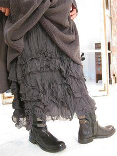 Privatsachen Bakstraps Ruffle Skirt