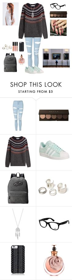 """#144"" by claudia-rania ❤ liked on Polyvore featuring Topshop, Closed, adidas, Vans, Lucky Brand, Ray-Ban, Savannah Hayes, Valentino and Bobbi Brown Cosmetics"