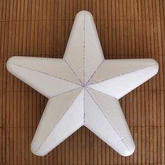 Falešný patchwork, hvězda - návod
