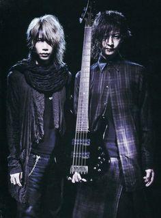 Shinya and Toshiya, Dir en grey