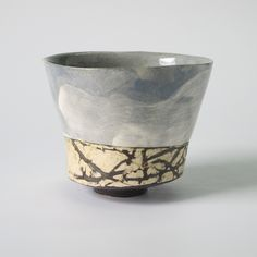 Thorn hedge and clouds : chawan x x Chawan, Hedges, Earthenware, Clouds, Vase, Sculpture, Ceramics, Home Decor, Ceramica