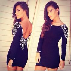 i personally wouldnt wear this, but i know tons of people that would rock this dress!