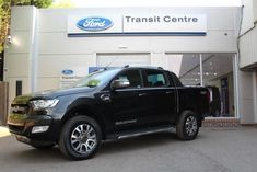 Ford Ranger 3.2TDCi 200PS Wildtrak 4x4 Auto in Black + Tow Bar