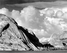 Lake Tenaya by Ansel Adams [1946] ㊗️ART AND IDEAS : More At FOSTERGINGER @ Pinterest  ㊙️㊗️