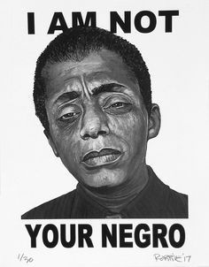 Image result for am not your negro poster