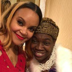 Ladies of #deltasigmatheta me and Lady Irma #foundersday