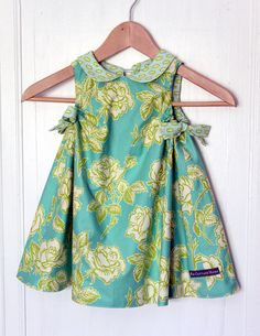 Floral Sweet Dress, Size 2t, In-stock And Ready To Ship By The Cottage Mama