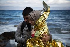 October 1, 2015 SANTI PALACIOS/ASSOCIATED PRESS A WAR'S RIPPLES Syrians arriving on Lesbos, Greece. A U.N. official said the crisis has drawn attention long overdue. Page A4.