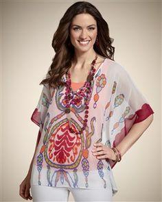 Women's Blouses, Women's Shirts, Women's Printed Tops & Tanks - Chico's