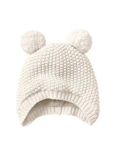 Gap Bear Pom Pom Hat