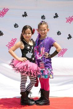 """Rock Star / Birthday """"Mia's Diva Rock Star """"   Catch My Party"""