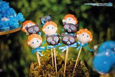 Ideas para fiestas de la princesa Merida   Tarjetas Imprimibles Disney Princess Party, Princess Birthday, 7th Birthday, Birthday Ideas, July 5th, Festa Party, Vintage Party, Bobble Head, Baby Shower