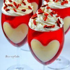 PIN - UP CAKE: Deser z galaretki na Walentynki