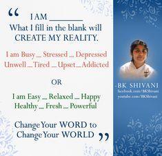 Power of words Spiritual Quotes, Wisdom Quotes, Life Quotes, Hindi Quotes, Qoutes, Bk Shivani Quotes, Peace Of Mind Quotes, Martial Arts Quotes, Radha Krishna Love Quotes