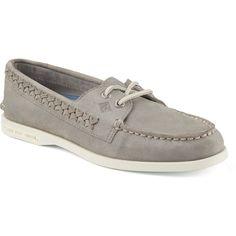 3b1749955c5a Sperry Women s A O Quinn Boat Shoe Grey - Shop Now At Shoolu.com