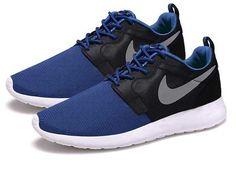 Nike Roshe Blue And Black